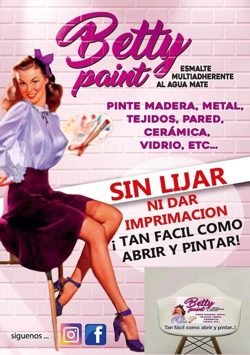 Chica portada betty paint
